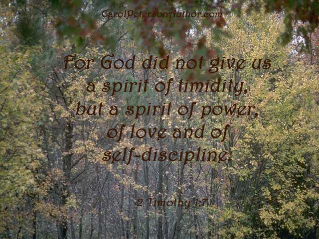 2 Timothy 1 7 cp